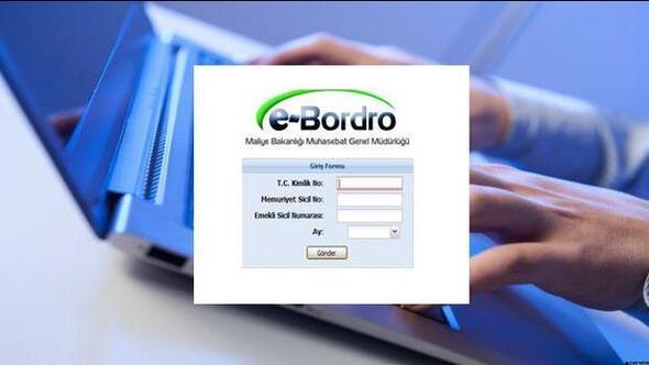 e-Bordro maaş sorgulama