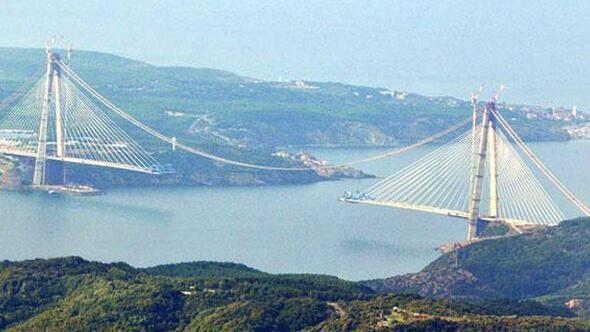 Üçüncü Köprü Temmuz-Ağustos gibi açılışa hazır hale gelecek