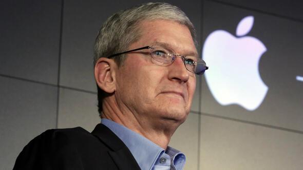 Apple CEOsu Brükselde vergi lobisi yaptı