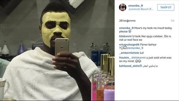 Emmanuel Emenike sosyal medyayı salladı