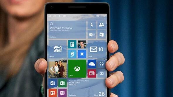 Windows 10 Mobileın çıkış tarihi belli oldu