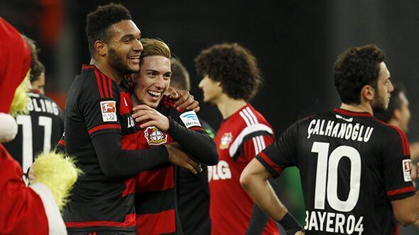 Leverkusen'den müthiş dönüş