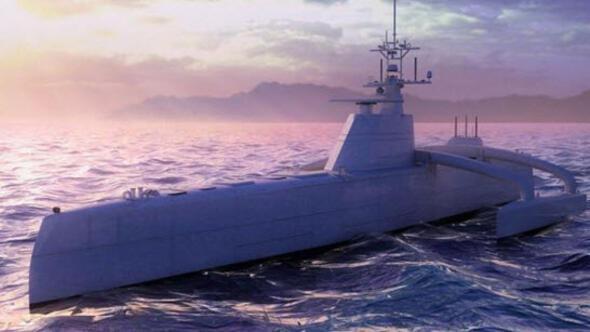 DARPA'dan insansız savaş gemisi