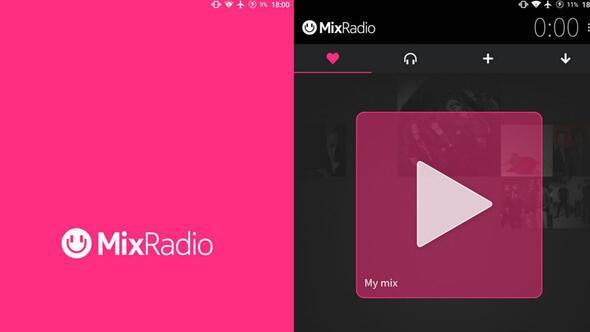 Nokianın bir zamanların popüler müzik servisi Mix Radio kapatılıyor