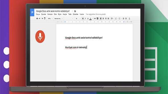 Google Docs artık sesle kontrol edilebiliyor