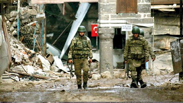 Askere terör zırhı