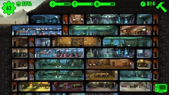 Fallout Shelter bakıma girdi
