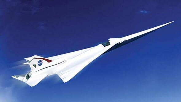 NASA'nın sesten hızlı giden uçağı geliyor