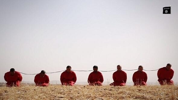 IŞİDden kan donduran yeni infaz