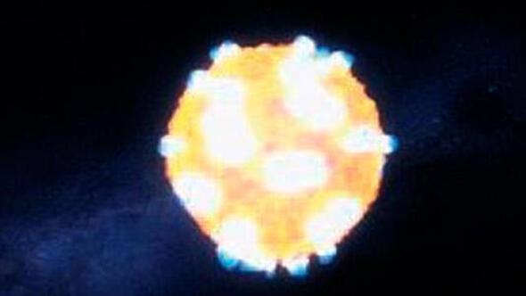 Yıldız patlaması NASA kayıtlarında