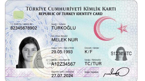 Yeni kimliklerde e-imza