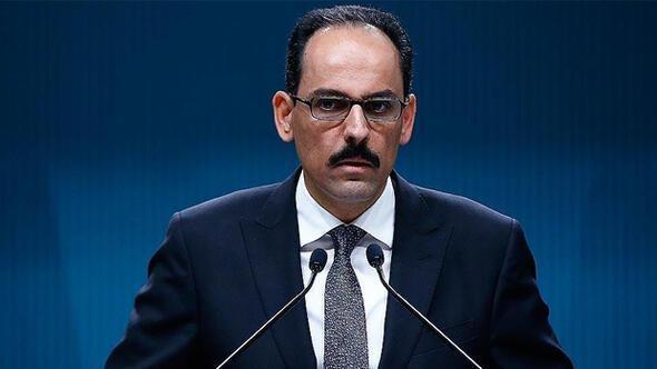 Cumhurbaşkanlığı Sözcüsü Büyükelçi İbrahim Kalın'dan Almanya'ya sert sözler