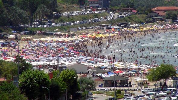 Şile-Ağva plajları doldu taştı - Son Dakika Haberler