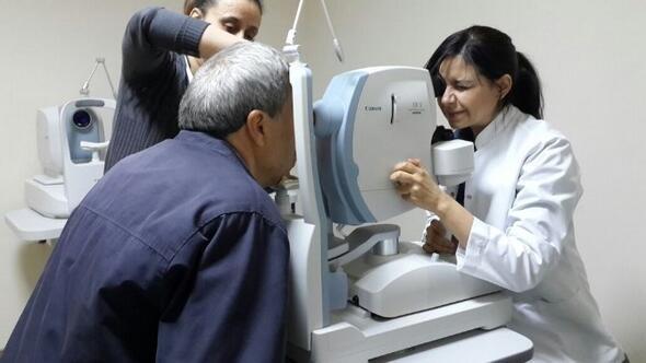 Uşak Haberleri Uşak Devlet Hastanesinde Göz Anjio Ve Tomografi