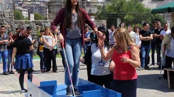 Karabağlarda engelli farkındalığı