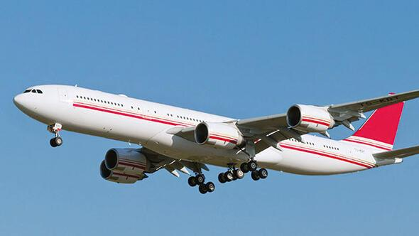 THY, Tunus'tan VIP uçak aldı