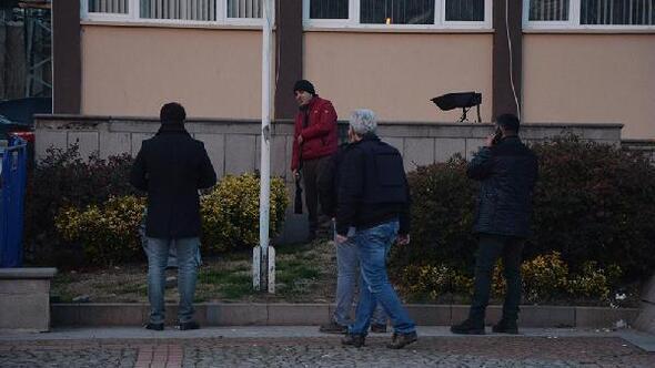 Sinop Valiliği önünde intihar girişimi