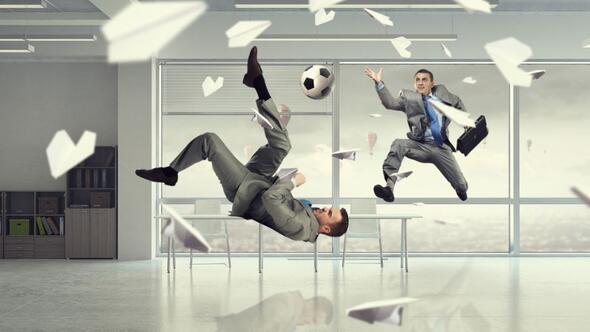 Futbolcu gibi çalışsaydık nasıl olurdu
