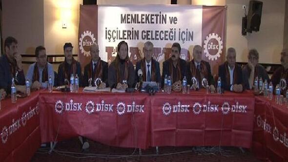 DİSK (Referandum kararı) : Memleketin ve işçilerin geleceği için hayır