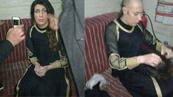 Son dakika: Terörist, makyaj yapıp kadın kılığına girdi