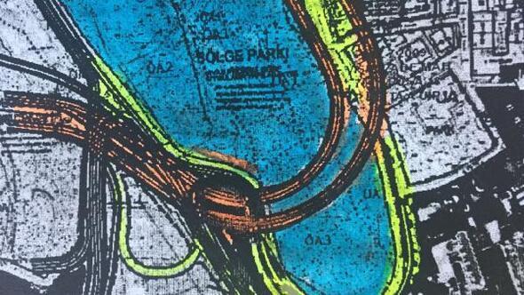Maçka Parkı için tünelin güzargahı değiştirildi