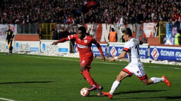 Samsunspor-Mersin İdmanyurdu maçı fotoğrafları