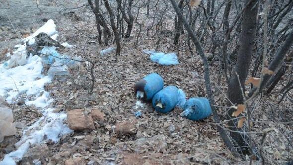 Tuncelide PKKnın tuzakladığı150 kiloluk patlayıcı imha edildi