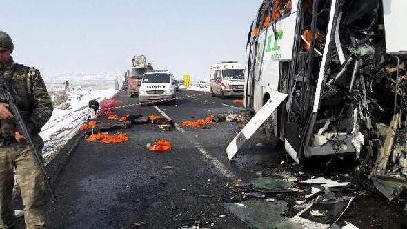 Iğdırda yolcu otobüsleri çarpıştı: 7 ölü / Ek fotoğraflar