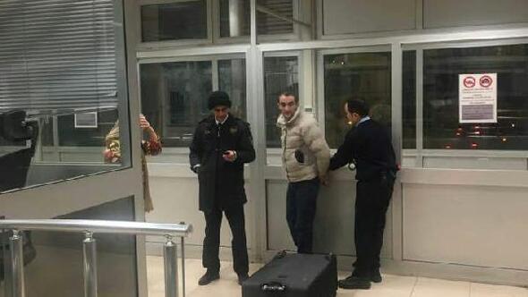 Gürcü kadın valiz içinde Türkiyeye giriş yapmak isterken yakalandı