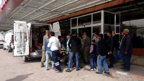 El Babda 3 Türk askeri yaralandı