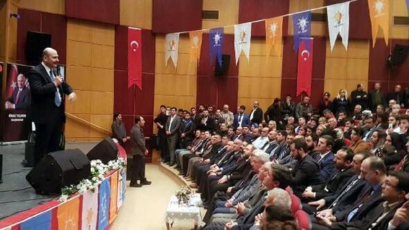 İçişleri Bakanı Soylu, Tuncelide esnaf ziyareti yaptı (2)