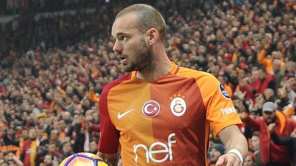 Galatasarayda Sneijder şoku