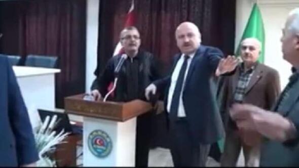 AK Partili vekil ile sendika temsilcisinin fındık tartışması
