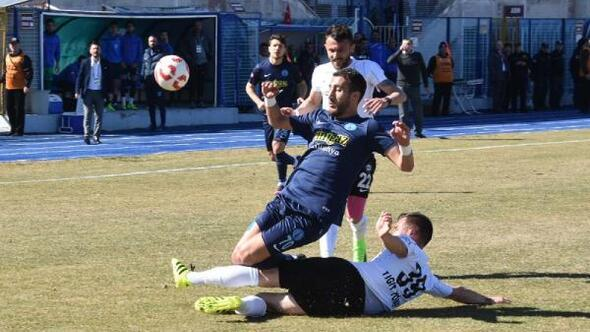 Kütahyaspor-Altay: 1-1 (Maçtan sonra olay çıktı)