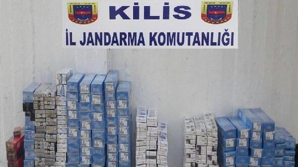 Kilista 1992 kaçak sigara ele geçti