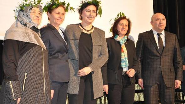 Kadına Şiddete Dur konferansı