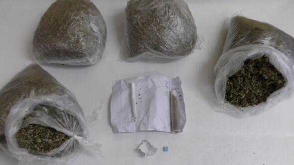 Amasya'da 850 gram bonzai ele geçirildi