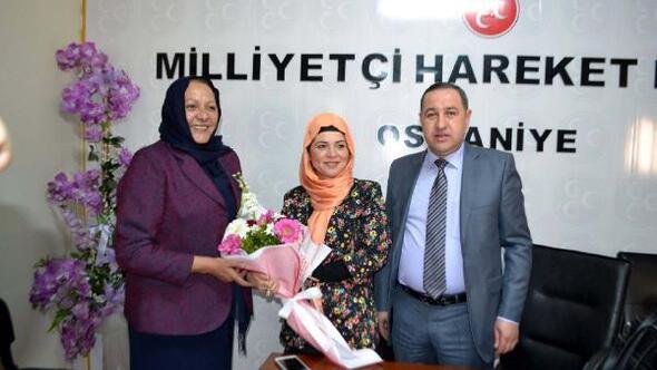 OGCden partilere Kadınlar Günü ziyaretleri