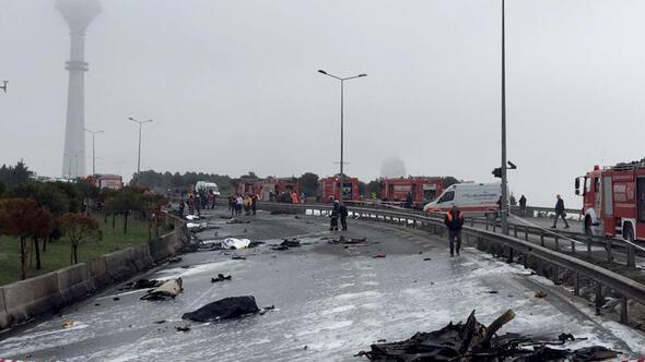 Eczacıbaşına ait helikopter düştü...İçinde kimlerin olduğu belirlendi