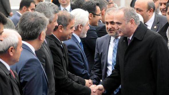 Bilim Sanayi ve Teknoloji Bakanı Faruk Özlü Elazığda