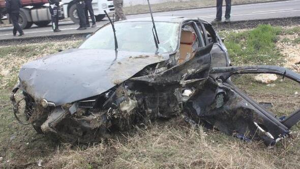 Keşanda trafik kazası: 2 yaralı