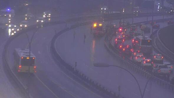 İstanbul trafiğinde kaza yoğunluğu