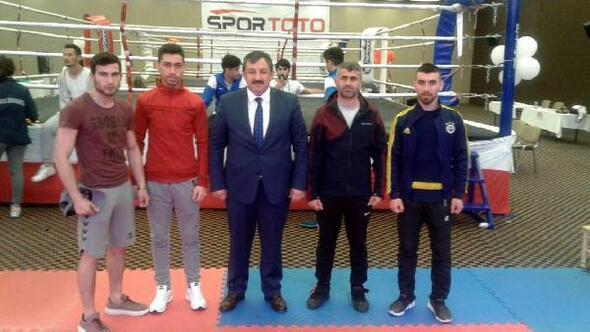 Kick boks' da büyük başarı
