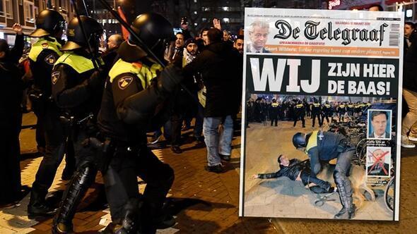 Hollanda basını çıldırdı