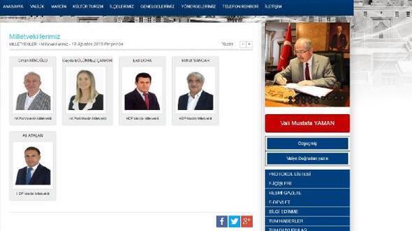 Mardin Valiliği, tutuklu HDPli vekili protokol listesinden çıkarınca konu İçişleri Bakanlığına soruldu