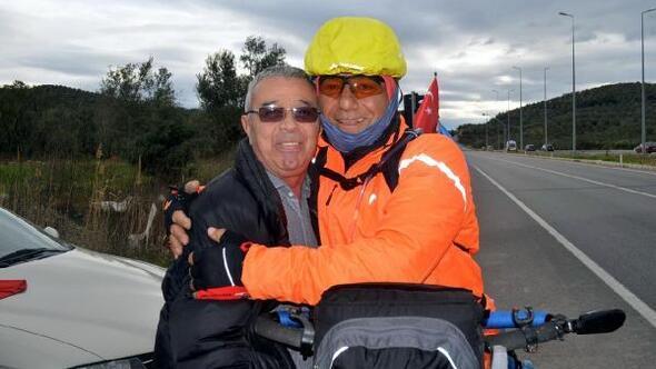 Engelliler için bisikletle yola çıktılar