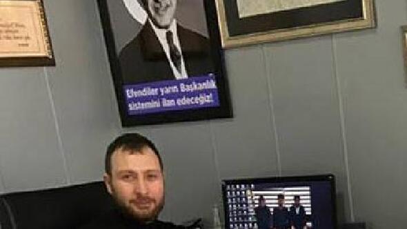 Atatürkün fotoğrafı üzerine Cumhurbaşkanının fotoğrafını monte eden çalışan hakkında inceleme