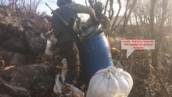Diyarbakırda uyuşturucu operasyonunda 390 kilo esrar ele geçirildi