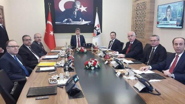 Diyarbakırda 7 ilin valisi ile güvenlik toplantısı