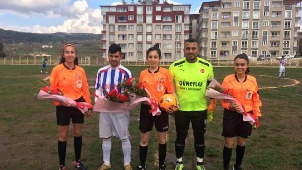 Play Off maçına kadın hakem üçlüsü